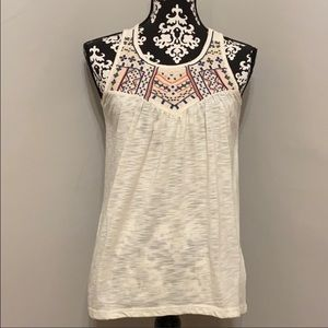Maurices embroidered tank